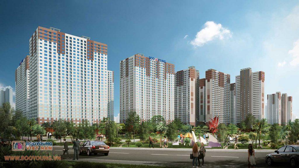 Quy hoạch khu chung cư Booyoung