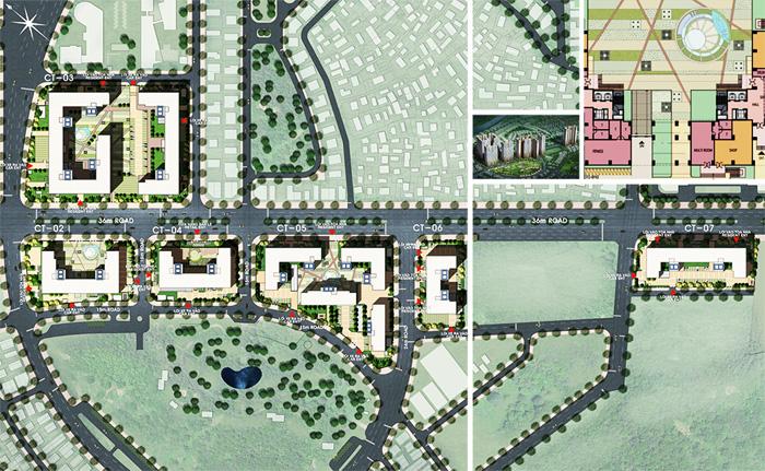 Thiết kế khu chung cư Booyoung