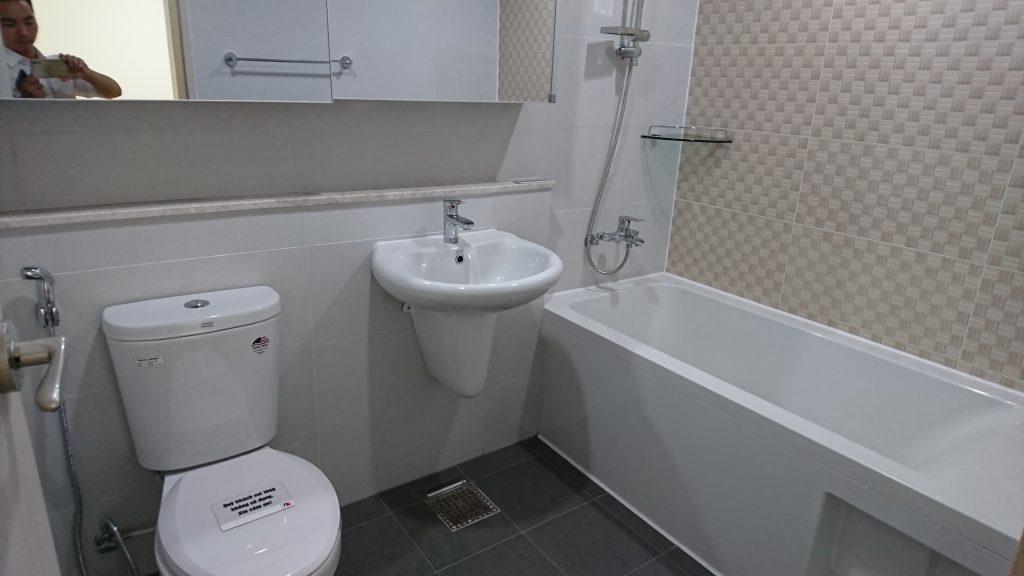 Phòng vệ sinh Booyoung Vina