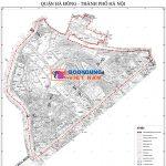 Bản đồ địa hình phường Mộ Lao