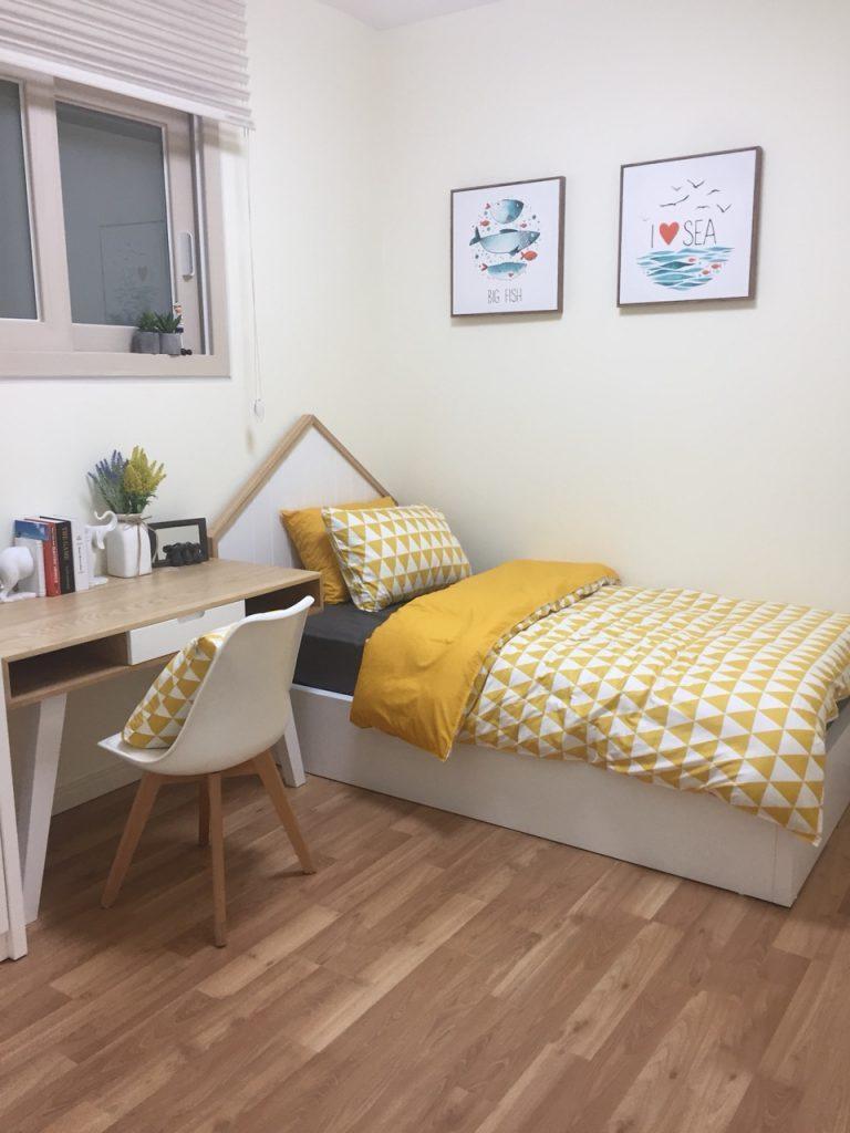 Thiết kế căn hộ chung cư Booyoung thông minh, hiện đại
