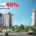 """""""Thanh toán 40% nhận nhà ở ngay. 60% còn lại trả trong 3 năm không lãi suất"""" là phương án cạnh tranh của Booyoung Vina"""