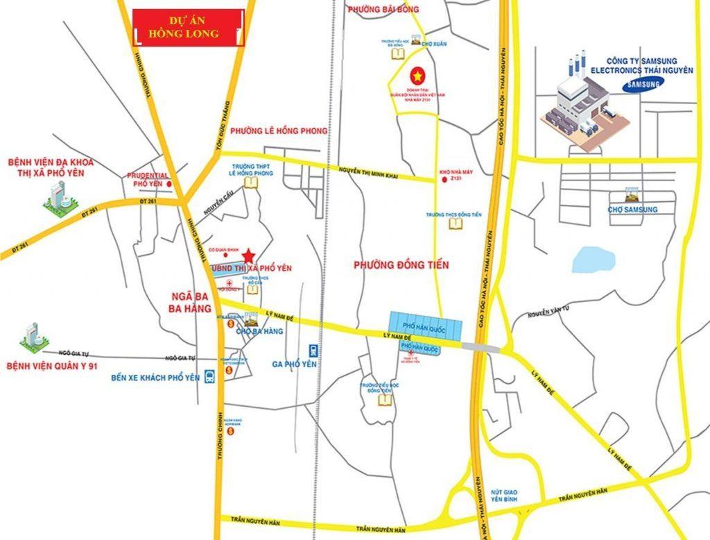 Khu đô thị Việt Hàn City Phổ Yên – Vị trí HOT kết nối nhiều tiện ích