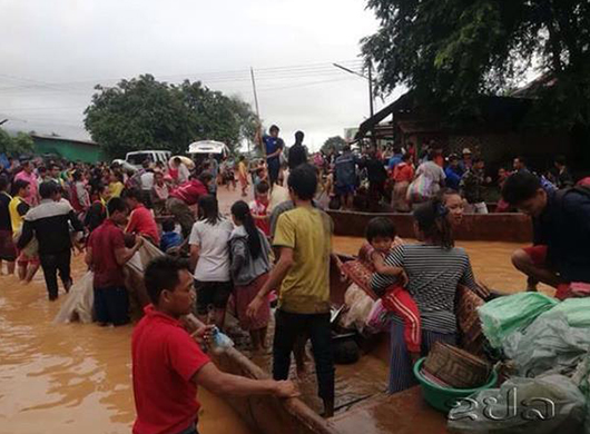 Korean firms active in relief campaign for Laos dam victims