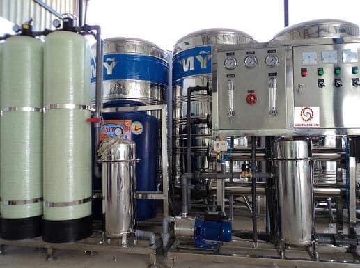 Hệ thống máy lọc nước tại chung cư Booyoung