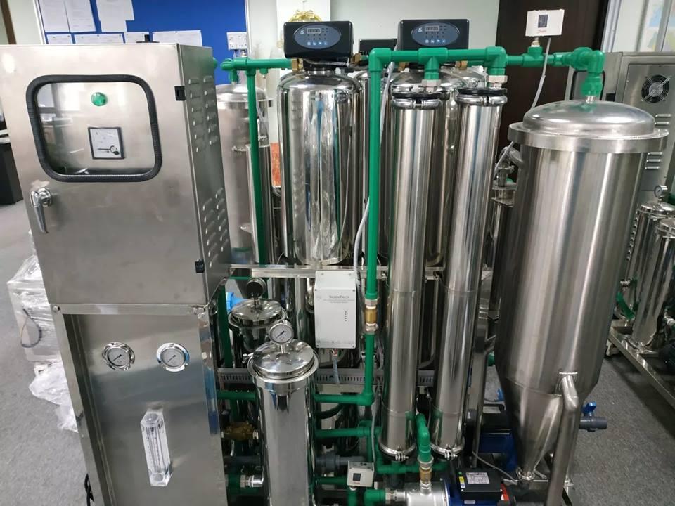 Hệ  thồng máy lọc nước tại chung cư Booyoung