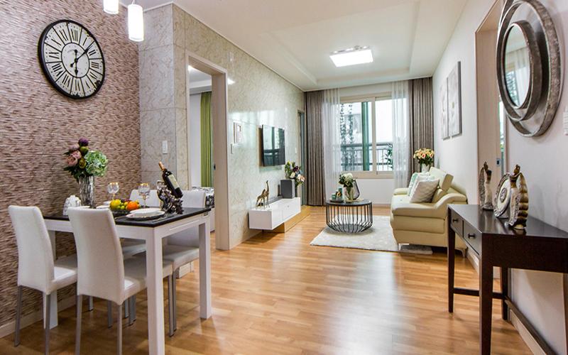 Thiết kế nội thất chung cư Booyoung