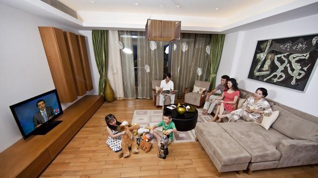 Cuộc sống chung cư (ảnh minh họa)