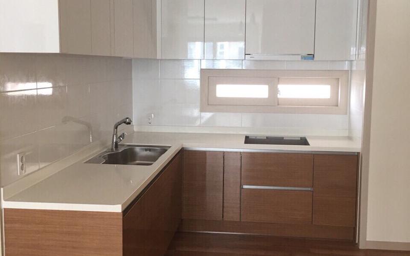 Thiết kế nội thất nhà bếp chung cư Booyoung