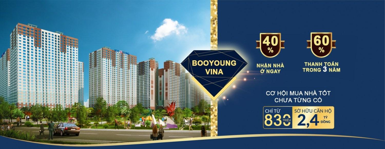 Chung cư Quốc tế Booyoung vina chiết khấu lên đến 13.4%