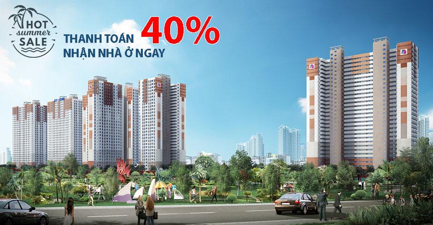 Mở bán chung cư Quốc tế Booyoung