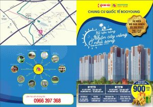 Chính sách ưu đãi từ chủ đầu tư chung cư Booyoung