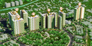 Phối cảnh chung cư Booyoung Vina